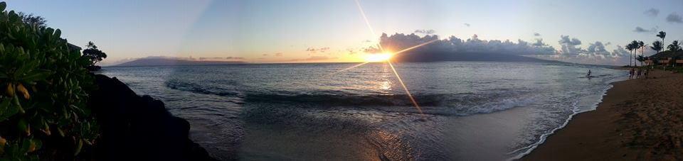 Hawaii Maui západ slunce